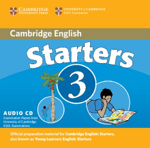 CAMBRIDGE YOUNG LEARNERS ENGLISH TESTS 2nd ED Starters 3 Class Audio CD