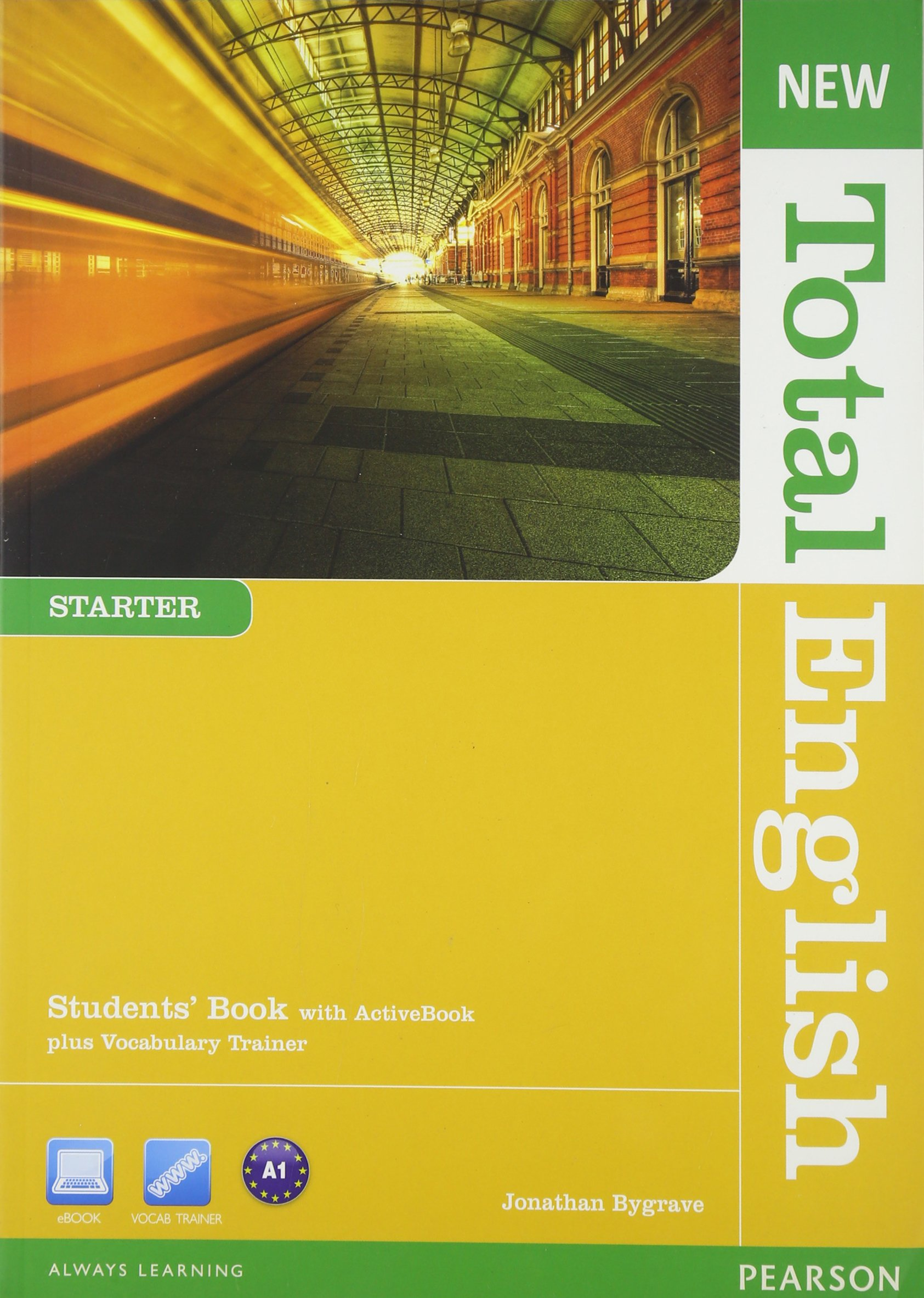 NEW TOTAL ENGLISH STARTER Student's  Book+ DVD+Active book