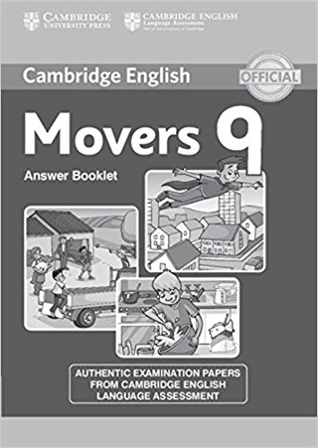 CAMBRIDGE YOUNG LEARNERS ENGLISH TESTS Movers 9 Activity Book
