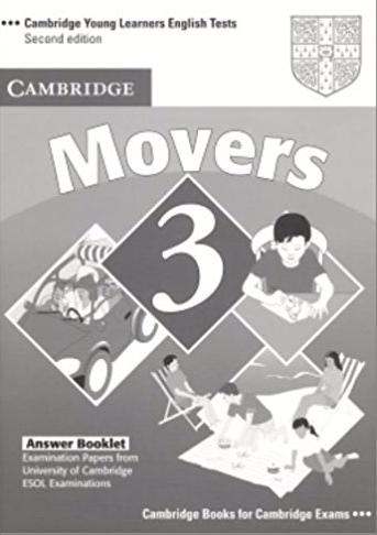 CAMBRIDGE YOUNG LEARNERS ENGLISH TESTS 2nd ED Movers 3 Answer Booklet