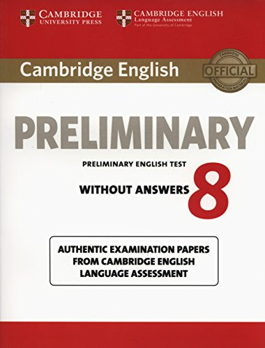 Cambridge PET 8 Student's Book