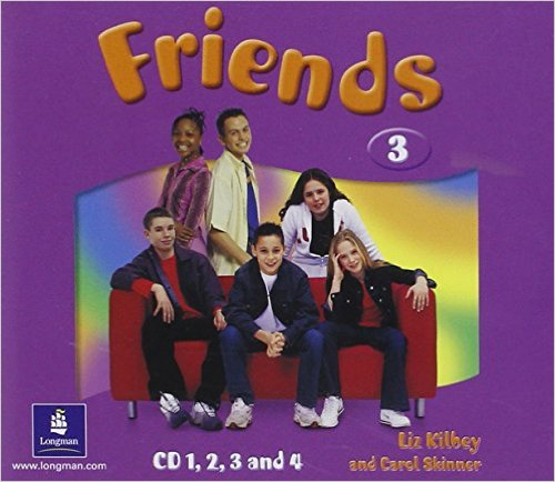FRIENDS 3 Class Audio CD (x4)