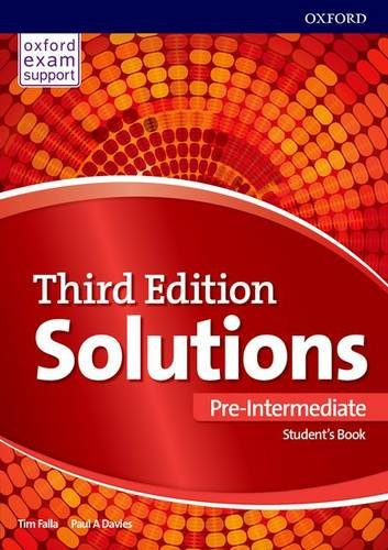 SOLUTIONS PRE-INTERMEDIATE 3rd ED Student's Book