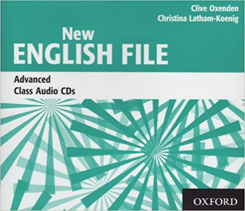 NEW ENGLISH FILE ADVANCED Audio CD