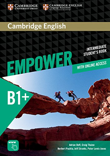CAMBRIDGE ENGLISH EMPOWER INTERMEDIATE Student's Book+Online Woorkbook