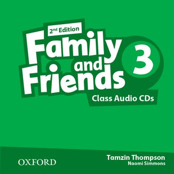FAMILY AND FRIENDS 3 2nd ED Class Audio CD (x2)
