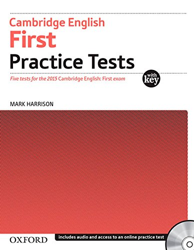 Cambridge English: First PracticeTests with answers+ AudioCD Pack