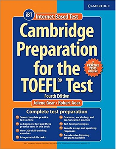 CAMBRIDGE PREPARATION TO THE TOEFL TEST 4th ED Book + Online Practice Tests