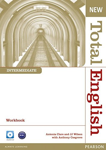 NEW TOTAL ENGLISH INTERMEDIATE  Workbook without answers+ Audio CD