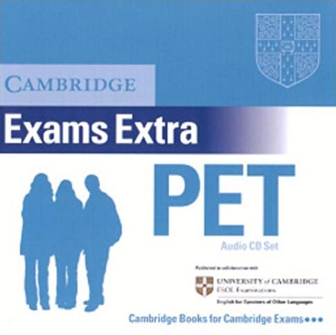 Cambridge PET Extra  AudioCD