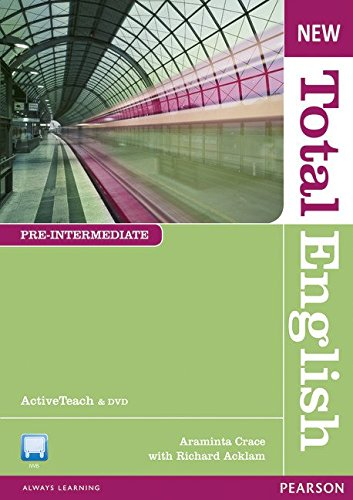 NEW TOTAL ENGLISH PRE-INTERMEDIATE Active Teach