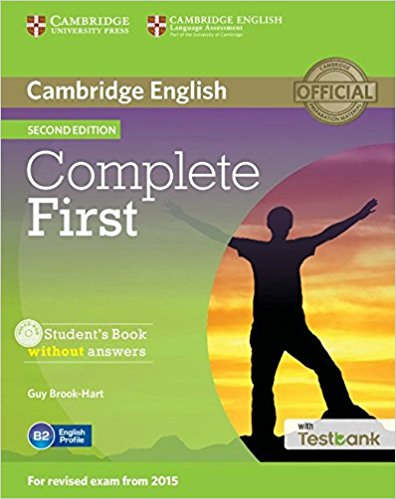 Complete First 2nd Ed Student's Book without answers + CD-ROM + Testbank