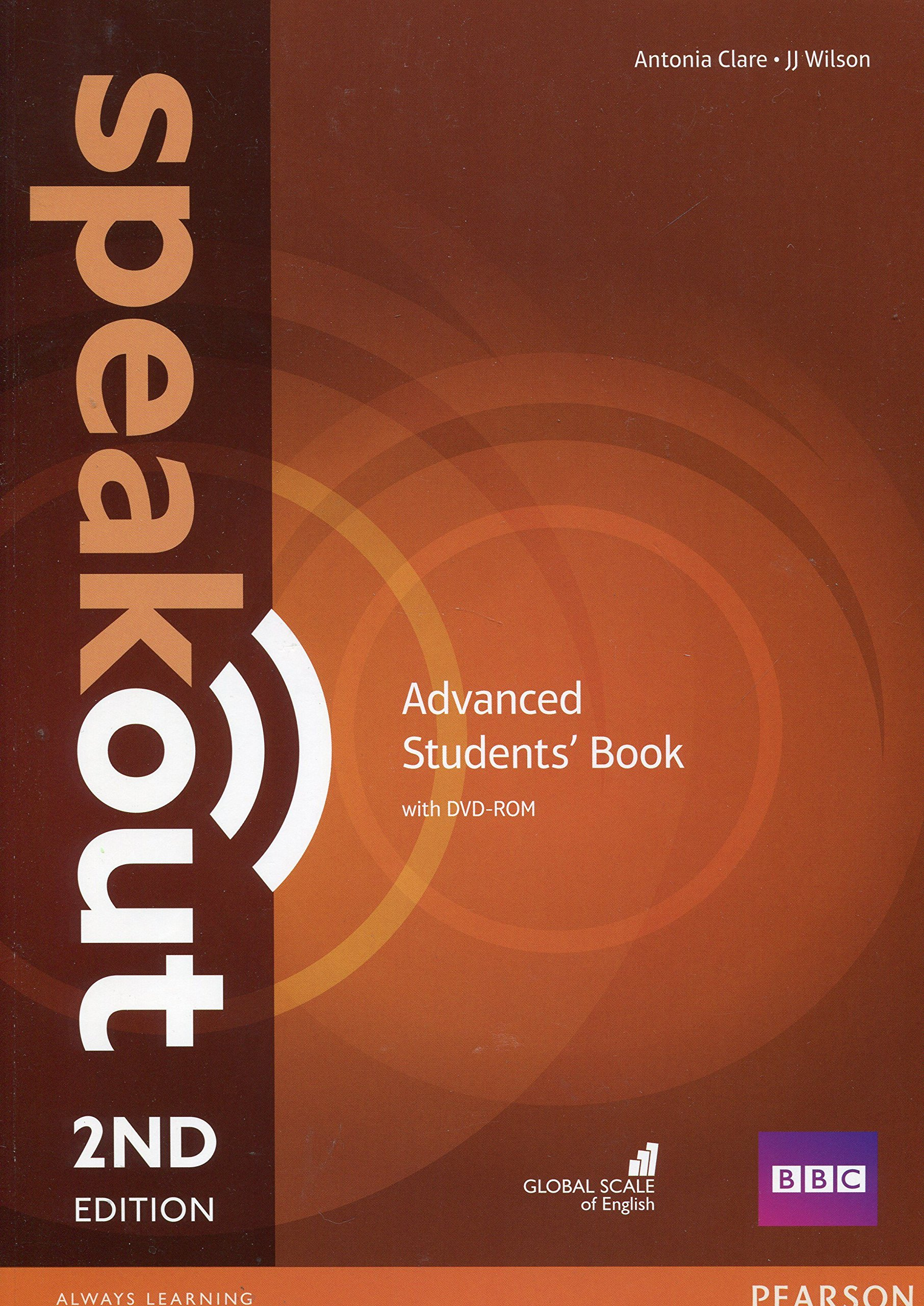 SPEAKOUT  ADVANCED 2nd ED Student's  Book+ DVD-ROM