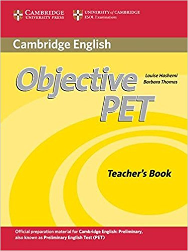 Objective PET  2nd Ed  Teacher's Book +AudioCD + CD-ROM