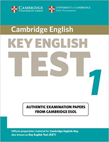 CAMBRIDGE KEY ENGLISH TEST 1 Student's Book