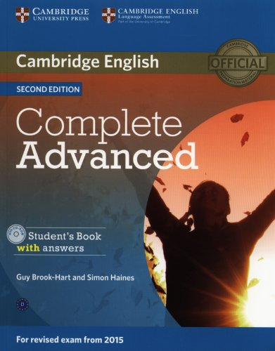 COMPLETE ADVANCED 2nd ED Student's Book with Answers + CD-ROM