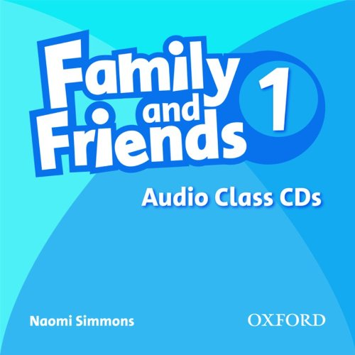 FAMILY AND FRIENDS 1 Class Audio CD