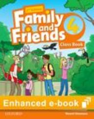 FAMILY AND FRIENDS 4  2ED CB eBook $ *