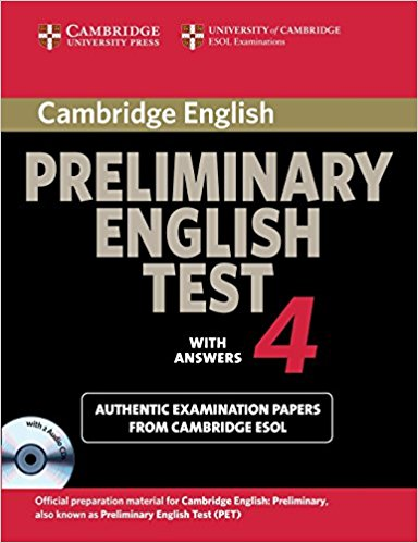 Cambridge PET 4 Self-Study Student's Book with answers + AudioCD