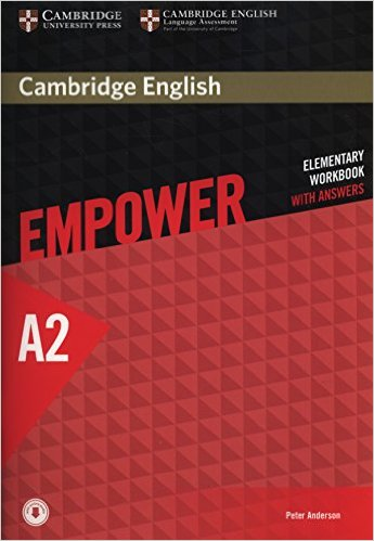 CAMBRIDGE ENGLISH EMPOWER ELEMENTARY Workbook with answers + Downloadable Audio