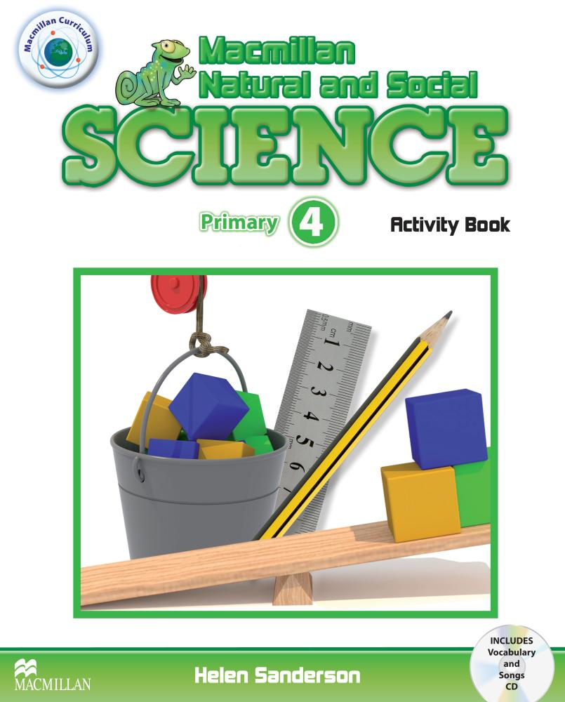 MACMILLAN NATURAL AND SOCIAL SCIENCE 4 Activity Book + Audio CD