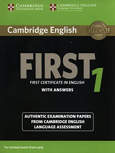 Cambridge English First1 for revised exam from 2015 Student's Book with answers