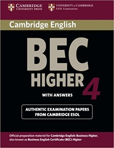 CAMBRIDGE BEC 4 HIGHER Student's Book with Answers