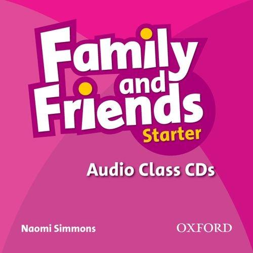 FAMILY AND FRIENDS Startrer 2nd ED Class Audio CD(x2)