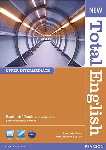 NEW TOTAL ENGLISH UPPER-INTERMEDIATE Student's  Book+ DVD+Active book