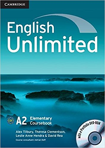 ENGLISH UNLIMITED ELEMENTARY Coursebook + e-Portfolio
