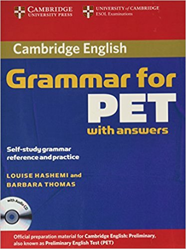 CAMBRIDGE GRAMMAR FOR PET Book with answers + AudioCD