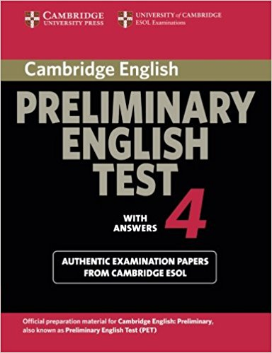 Cambridge PET 4 Student's Book with answers