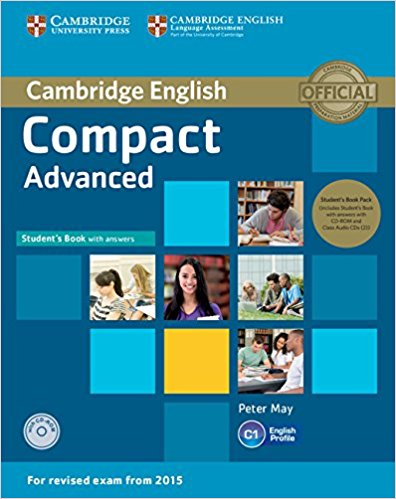 COMPACT ADVANCED 2015 Student's Book with Answers + CD-ROM + Class Audio CD