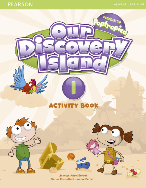 OUR DISCOVERY ISLAND 1 Activity Book + CD-ROM