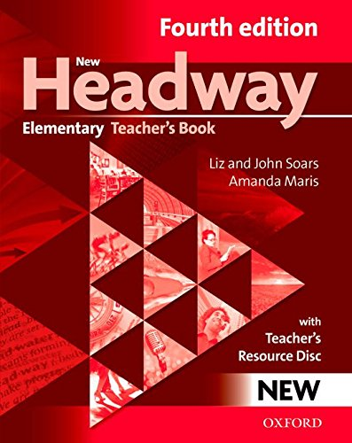 NEW HEADWAY ELEMENTARY 4th ED Teacher's Book Pack
