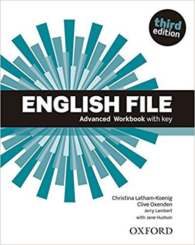 ENGLISH FILE ADVANCED 3rd ED Workbook with Key