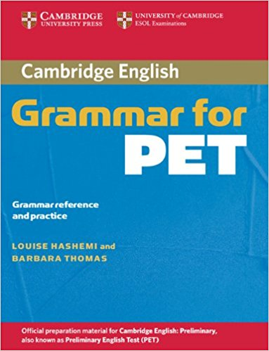 CAMBRIDGE GRAMMAR FOR PET Book without answers