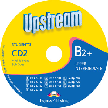 UPSTREAM UPPER-INTERMEDIATE 2nd ED Student's Audio CD 2
