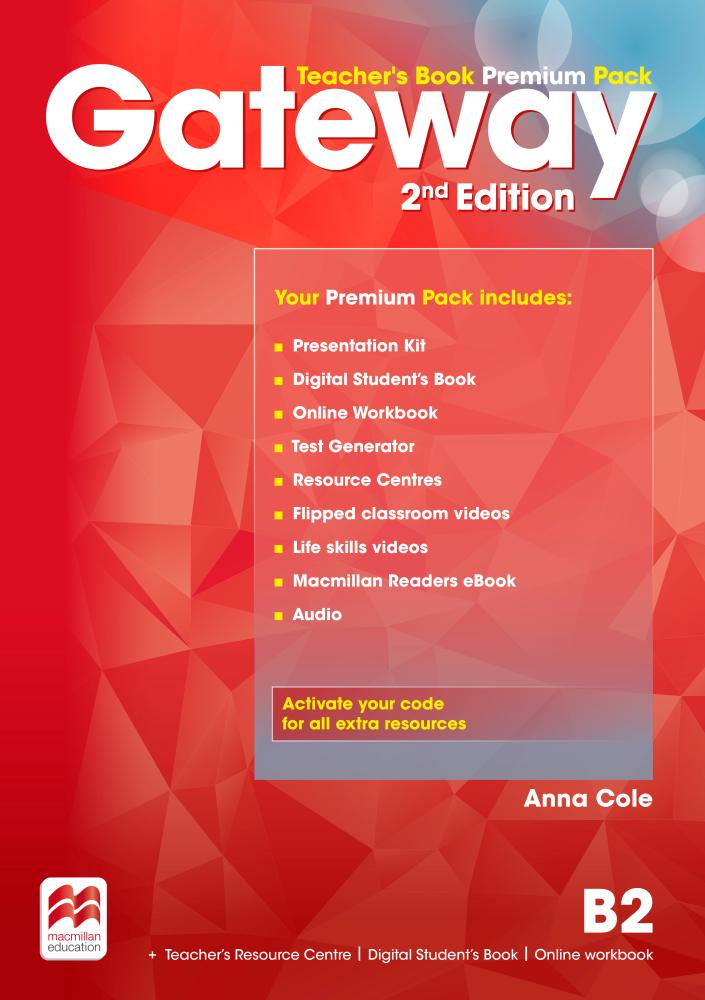 GATEWAY 2nd ED B2 Teacher's Book Premium Pack