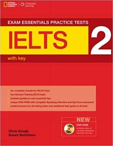 EXAM ESSENTIALS PRACTICE TESTS IELTS 2 Student's Book with Answers + DVD-ROM