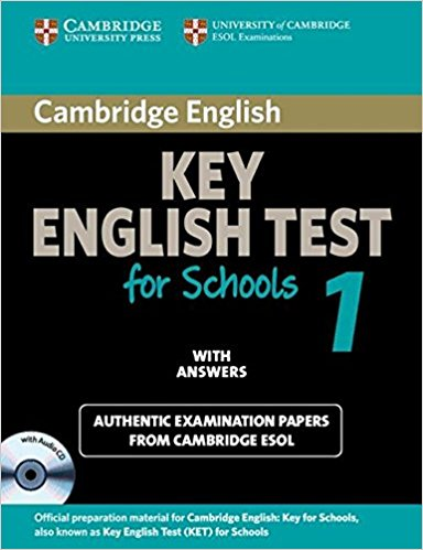 CAMBRIDGE KEY ENGLISH TEST FOR SCHOOLS 1 Self-study Pack (Student's Book with Answers + Audio CD)