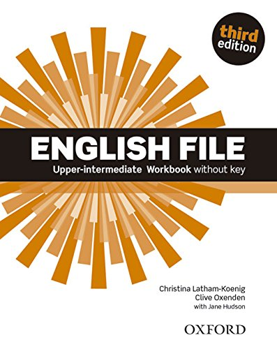 ENGLISH FILE UPPER-INTERMEDIATE 3rd ED Workbook without Key