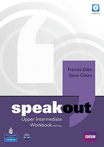 SPEAKOUT UPPER-INTERMEDIATE Workbook with answers + Audio CD