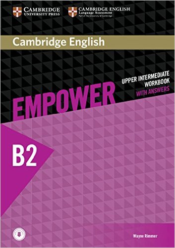 CAMBRIDGE ENGLISH EMPOWER UPPER-INTERMEDIATE Workbook with answers + Downloadable Audio