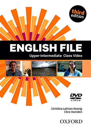 ENGLISH FILE UPPER-INTERMEDIATE 3rd ED DVD
