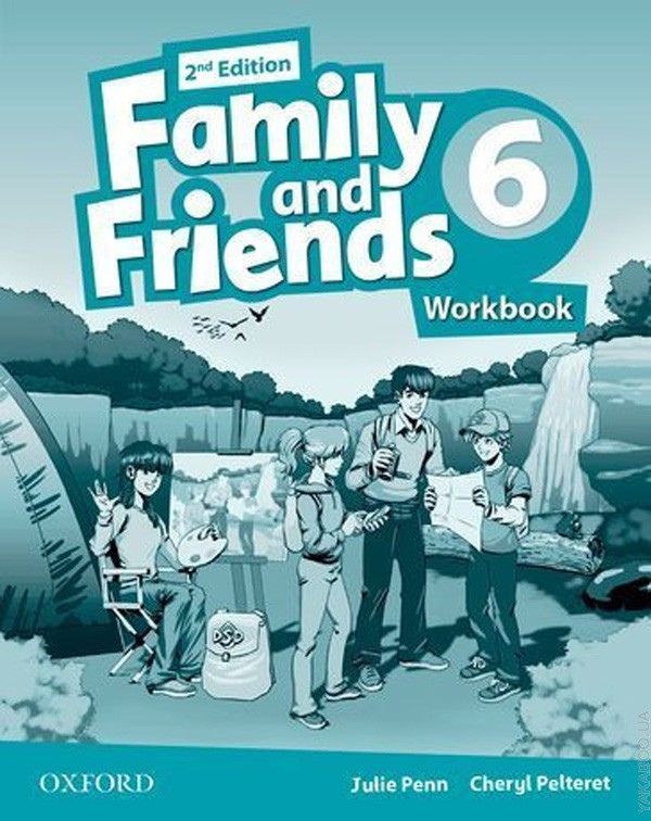 FAMILY AND FRIENDS 6 2ndED Workbook