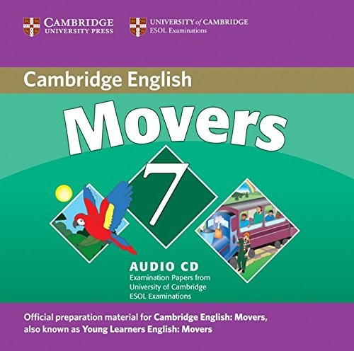 CAMBRIDGE YOUNG LEARNERS ENGLISH TESTS Movers 7 Class Audio CD