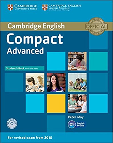 COMPACT ADVANCED 2015 Student's Book with Answers + CD-ROM