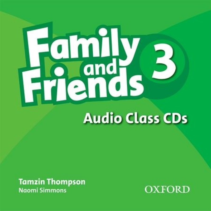 FAMILY & FRIENDS 3 Class Audio CD