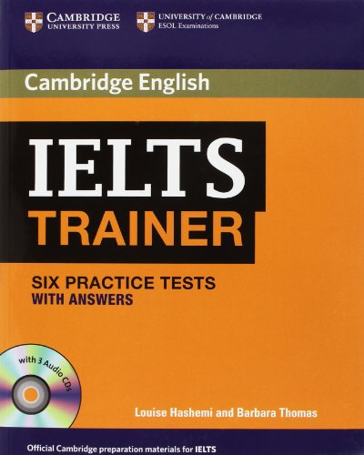 IELTS TRAINER Practice Tests with Answers + Audio CD
